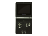 Game Boy Advance SP: BLACK