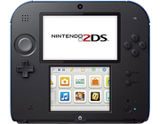 Nintendo 2DS: BLACK-BLUE